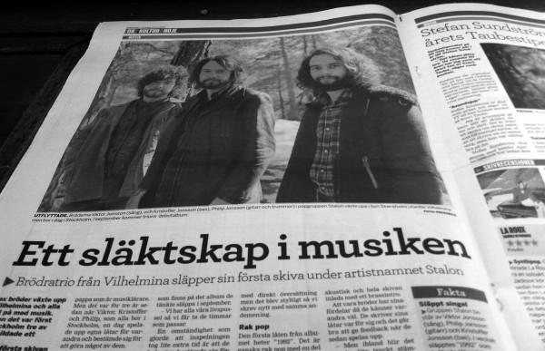 Stalon i Västerbottens folkblad